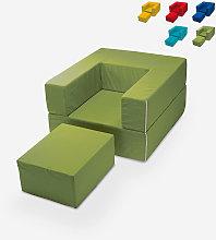 Sillón modular de diseño modular con chaise