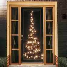 Silueta árbol Navidad Fairybell® para puerta