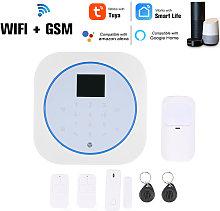 Sistema de alarma Wifi GSM, intercomunicador,