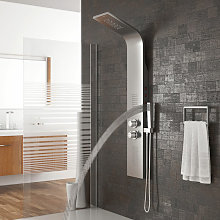 Sistema de panel de ducha,Columna de baño,Mampara