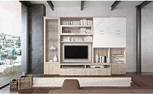 Sistema de pared para sala de estar mueble de TV