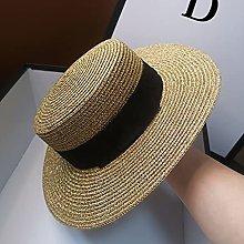 SJYDQ Señoras Sun Sombreros Sombrero de Paja