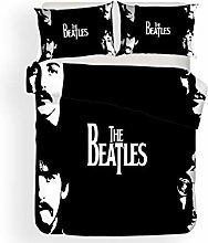 SK-PBB Beatles - Juego de funda de edredón y
