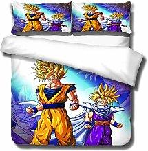 SK-PBB Juego de ropa de cama de Dragon Ball, 3