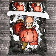 SK-PBB One Punch-Man - Juego de ropa de cama (3