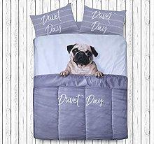 Sleepdown Daytime Pug Animal Print - Juego de