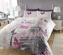 Sleepdown New Paris Romance - Juego de Funda de
