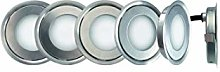 SLID Concept 0181 - Foco LED (acero inoxidable,