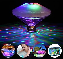 SLKIJDHFB Luces de estanque, juguetes de baño