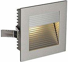 SLV CADRA-Foco empotrable (Cuadrado, luz LED