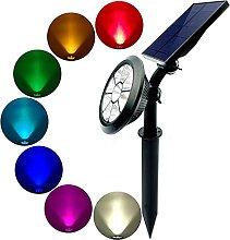 SMEJS Lámpara de iluminación de suelo de paisaje