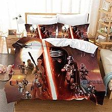SMNVCKJ Juego de cama infantil de Star Wars con