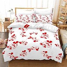 SMNVCKJ Juego de ropa de cama con diseño de