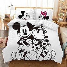 SMNVCKJ Juego de ropa de cama de Mickey Mouse,