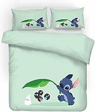 SMNVCKJ Ropa de cama para adolescentes Lilo und
