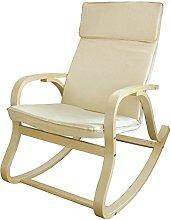 SoBuy® Silla de relada, mecedora, sillón de