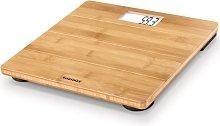 Soehnle Báscula de baño Bamboo 180 kg marrón