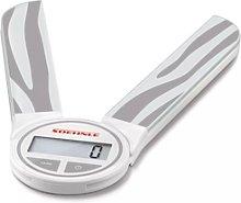 Soenhle Genius Grey 3kg - Balanza de cocina digital