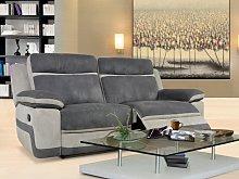 Sofá 3 plazas relax de microfibra TALCA -