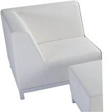 Sofá blanco esquina CLOUD de Resol