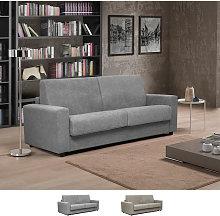 Sofá cama 3 plazas de diseño clásico en tela