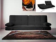 Sofá cama clic-clac ATLANTA II - Negro