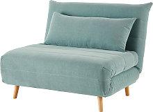 Sofá cama de 1 plaza verde agua
