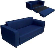 Sofá cama de 2 plazas de espuma aglomerada de