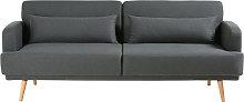 Sofá cama de 3 plazas gris