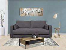 Sofá cama italiano de tela de 3 plazas WALLACE -