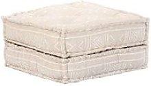 Sofa cama modular de 4 plazas de tela beige