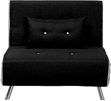 Sofá cama negro FARRIS