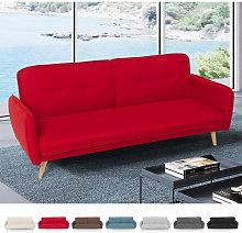 Sofá cama reclinable de diseño nórdico clic