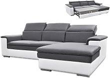 Sofá cama rinconero bimaterial CONNOR -