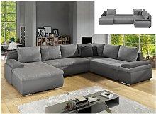 Sofá-cama rinconero panorámico y reversible de