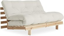 Sofá cama Roots 140, natural