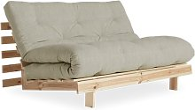 Sofá cama Roots 140cm, lino