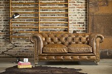 Sofa Chesterfield vintage Saint Paul