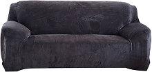 sofa cubierta de invierno calido, de dos plazas,