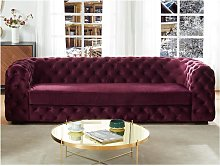 Sofá de 3 plazas chesterfield STANLEY -