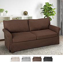 Sofá de 3 plazas de diseño clásico moderno para