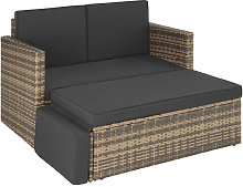 Sofá de ratán Corfú - mueble de exterior de