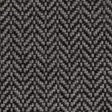 Sofá estilo Mid-Century Tweed / Tweed Black