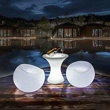 Sofá luminoso LED RGBW, 56x46cm, 2.4W, IP65,
