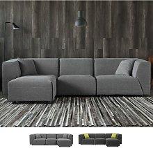 Sofá modular de 3 plazas de estilo moderno en