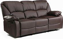 Sofa ® Tres Plazas Reclinable con Masaje por