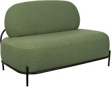 Sofá verde Polly