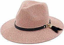 Sombrero de Paja Trenzado para Mujer Sombrero de
