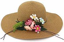 Sombrero de sombrilla Sombrero de Paja para Mujer