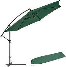Sombrilla 350cm - parasol excéntrico de jardín,